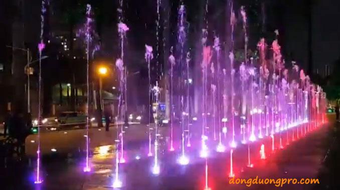 Bản vẽ thiết kế sàn nhạc nước công viên Văn Lang