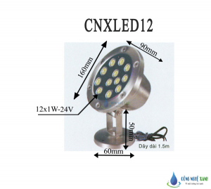LED LIGHT 12W