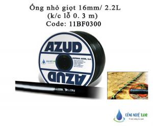 Ống nhỏ giọt 16mm - 2.2L/H