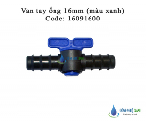 VAN TAY ỐNG 16MM