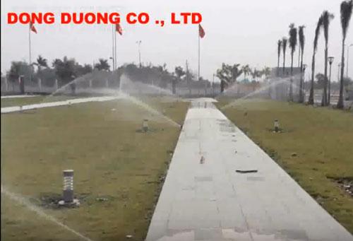 Lắp đặt hệ thống tưới cảnh quan thiết bị tưới Weathermatic
